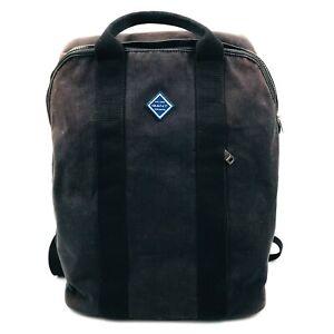 GANT Large Sun Faded Black Backpack Bag