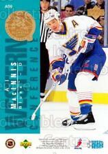 1995-96 Upper Deck NHL AS Jumbo #9 Eric Desjardins, Al MacInnis