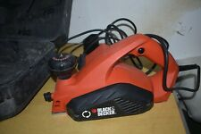 Black & Decker Kw712 Type 2  650w Electric Power Planer.240v.
