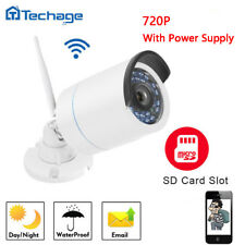 Techage SD Card Record 720P 1.0MP WIFI Wireless Camera Audio CCTV Surveillance