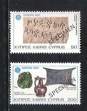 1983 EUROPA ARCHAEOLOGY MINERALS Smelting Trade copper Ancient Cyprus SPECIMEN