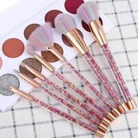 Pro 10Pcs  Makeup Brushes Eyeshadow Blush Powder Foundation Brush Set Beauty