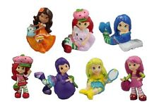 Strawberry Shortcake Playset 7 Figure Cake Topper * USA SELLER* Toy Doll Set