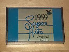 Super Hits 1959 Original Artists 1978 Cassette Tape Various Coasters Duane Eddy