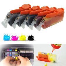 5pc Ink Cartridges CLI526 PGI525 For Canon PIXMA MX715 MX882 MX885 MX895 iP4950