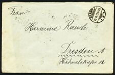 299662) DR Infla Mef Nr.322(10) ab Branitz nach Dresden