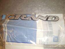 Nos 2000-2003 Pontiac Grand Prix Left Front Door Emblem Badge Nameplate10442385