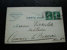 FRANCE - carte 1913 (cy23) french