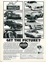 1978 Print Ad Hooker Headers Bob Glidden Pro Stock Pinto Firebird Camaro & Vega