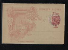 Timor  postal  card  cancelled  1898      HD1124
