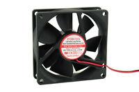 Evercool EC8025M12C-D2P 80mm x 25mm Ballbearing Fan, 2Wire, 2Pin
