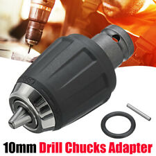 """1/2"""" Square Drive Drill Chuck 3/8"""" Converter Adapter Socket For Impact Wrench"""