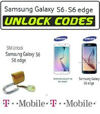 Note 4 SAMSUNG GALAXY T MOBILE UNLOCK CODE SM-G920T SM-G925T  SM-G900T