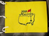 2018 MASTERS Official EMBROIDERED Golf Pin FLAG