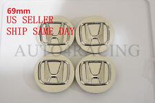 "4*69mm Honda Wheel Center Hub Caps 2.75"" Civic Accord Pilot Silver 44732S0XA01"