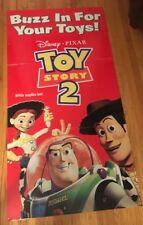 Disney Pixar Toy Story Mcdonald's Heavy 6 Foot By 3 Feet Poster. Featuring Woody