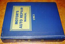 1955 56 57 58 59 60 61 62 63 Motors Repair Manual Buick Chevy Ford Pontiac Dodge