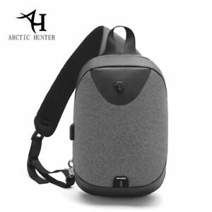Arctic Hunter Waterproof Backpack Mens Cross body Sling Shoulder Bag