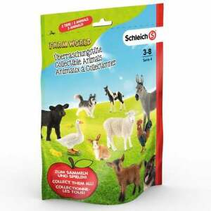 Schleich Farm World Animal Assortment Blind Bag - Includes 3 Animal Figures