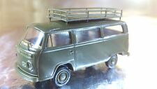 ** Brekina 33171 VW T2 Military Bus with large Roof Rack 1:87 HO Scale