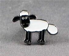 Metal Enamel Pin Badge Brooch Sheep Shaun The Sheep Sean Farm Animal Baa Lamb