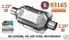 """93165 Eastern Universal Catalytic Converter ECO III 2.25"""" 2 1/4"""" Pipe 10"""" Body"""