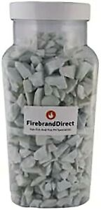 White Fire Glass 4.5kg (10lb) Pits Gas Fires Burners Firebrand Direct Sale Price