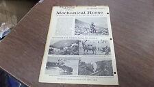 1958 Outdoor Life April Reprint Triumph Mechanical Horse Graham Wilson Article