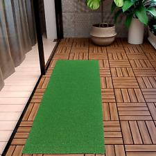 Landscape Fake Grass Artificial Pet Turf Lawn Synthetic Mat Rug Green 2 X 5