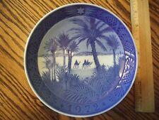 Royal Copenhagen Blue White In The Desert 1972 Annual Plate
