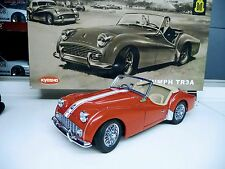 1:18 KYOSHO TRIUMPH tr3a ROSSO RED NUOVO NEW