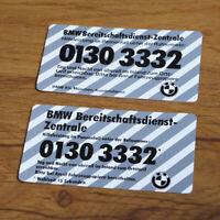 BMW Emergency Service label E23 E24 E28 E30 E32 E34 E36 E46 decal sticker