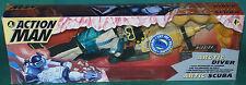 "Rare Original 12"" Inch Action Man Arctic Diver Mib Hasbro 1997"