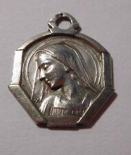 """Médaille religieuse """" Sainte Vierge """" - argent massif"""
