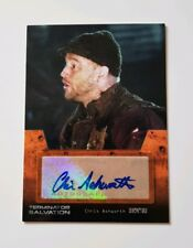 Topps Terminator Salvation Autograph Card Chris Ashworth