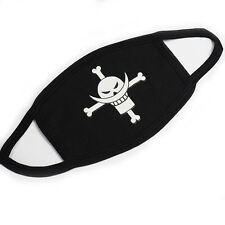 Anime One Piece Ace Logo Anti-Dust Cotton Mouth-muff Mask Cosplay Gift Fashion