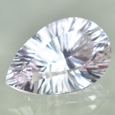 8.59 CTS_FINE LUSTER LOUPE CLEAN 100% NATURAL KUNZITE MINE BRAZIL PAIR