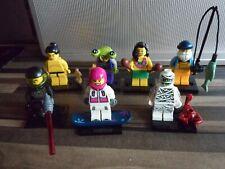 Lego 8803 Minifigures Series 3 Bundle x 7 ALL COMPLETE VGC