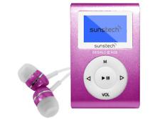 Reproductor MP3 - Sunstech Dedalo III, 8GB, 4h Autonomía, Radio FM, Rosa
