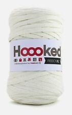 Hoooked RibbonXL 120M Cotton Yarn Knitting Crochet Pearl White
