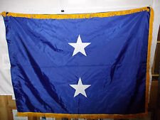 flag803 Us Navy 2 Star Rear Admiral Us Flag & Signal Co gold fringe
