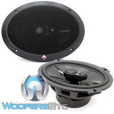"ROCKFORD FOSGATE T1693 POWER 6""X9"" 200W RMS 3-WAY ALUMINUM TWEETERS SPEAKERS NEW"