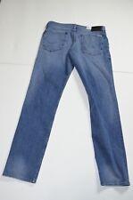 NWT Hudson Blake Jeans Sz 34 x 33 Light Wash Slim Fit