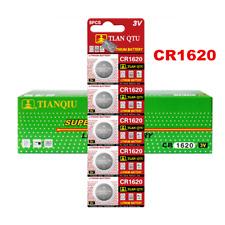 5PCS Lot CR1620 DL1620 ECR1620 Alkaline Button Coin Cells Watch Battery Sturdy