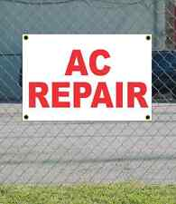 2x3 AC REPAIR Red & White Banner Sign NEW