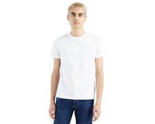 Levi's Men T-Shirt Athletic White Cotton Sportswear Logo Graphic Tee 39636-0059