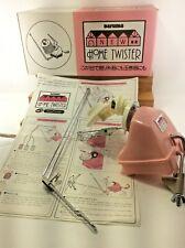Vintage Daruma Knitting Yarn Home Twister Ball Winder w/ Box