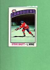 1976 Topps Hockey Set STEVE SHUTT Card # 181
