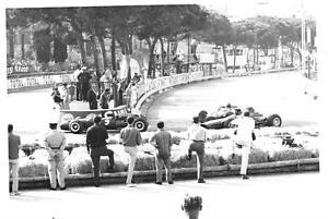 DENNY HULME BRABHAM BT20 QUALIFYING 1966 MONACO GP ORIGINAL PERIOD F1 PHOTOGRAPH