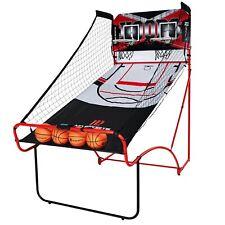 MD Sports Indoor EZ Fold Dual Shot Arcade LED Basketball Game